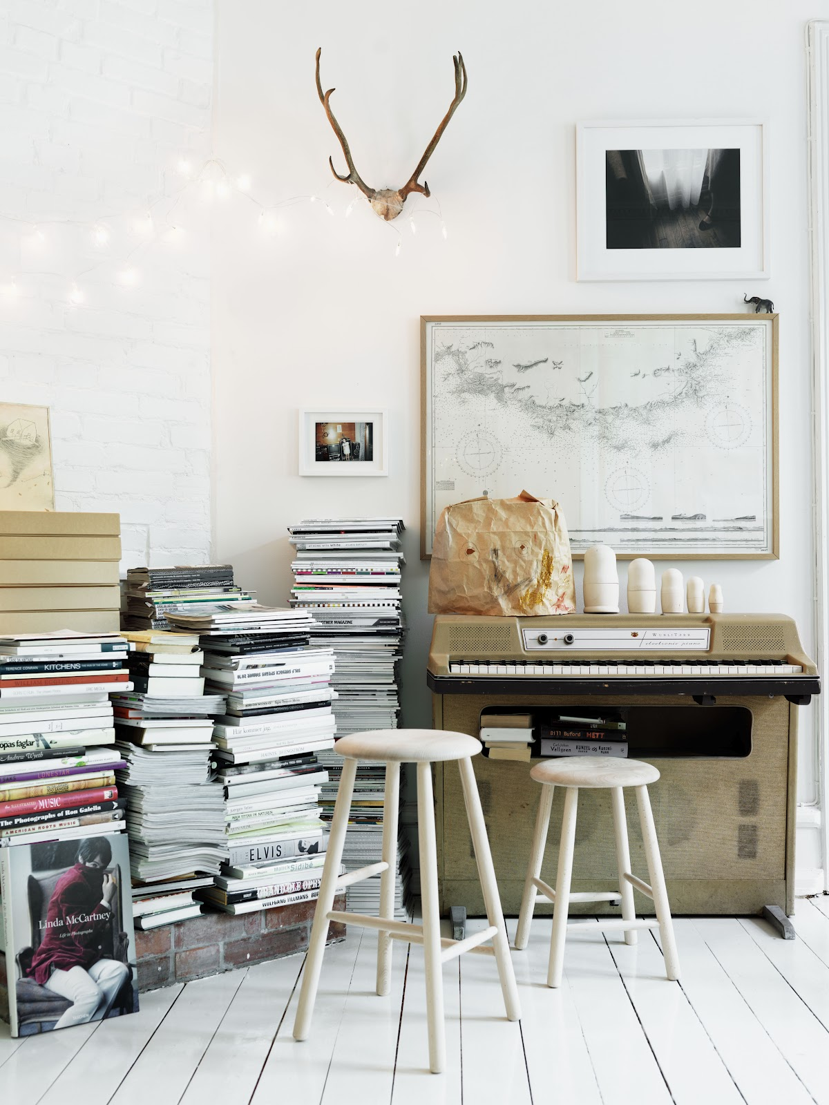 Home of interior stylist Emma Persson Lagerberg photographed by Petra Bindel