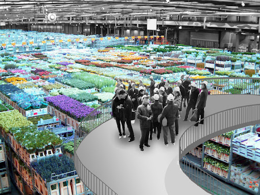 Proposal for City of Holland Central- Floriade 2022 by OMA