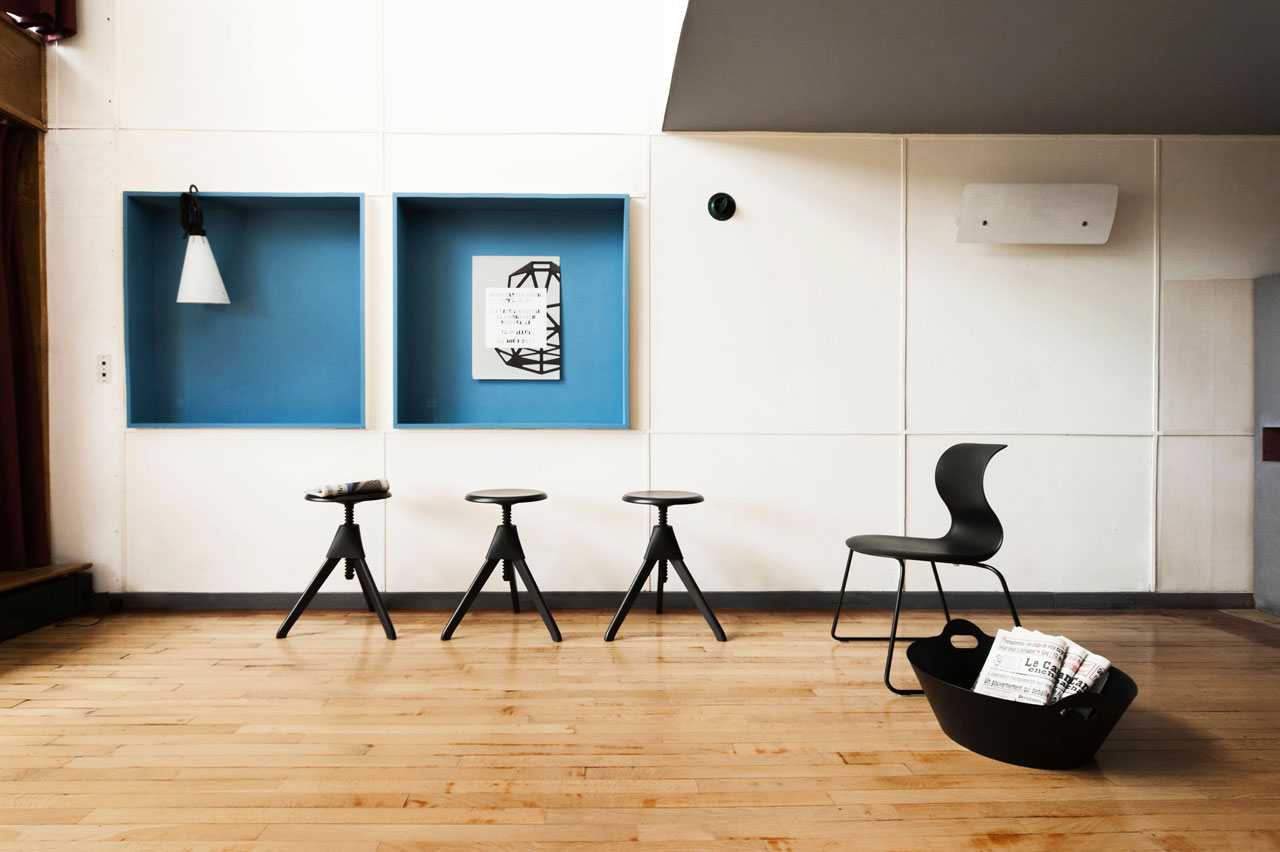 konstantin grcic at apartment n 50 at le corbusier 39 s unit d 39 habitation cate st hill. Black Bedroom Furniture Sets. Home Design Ideas