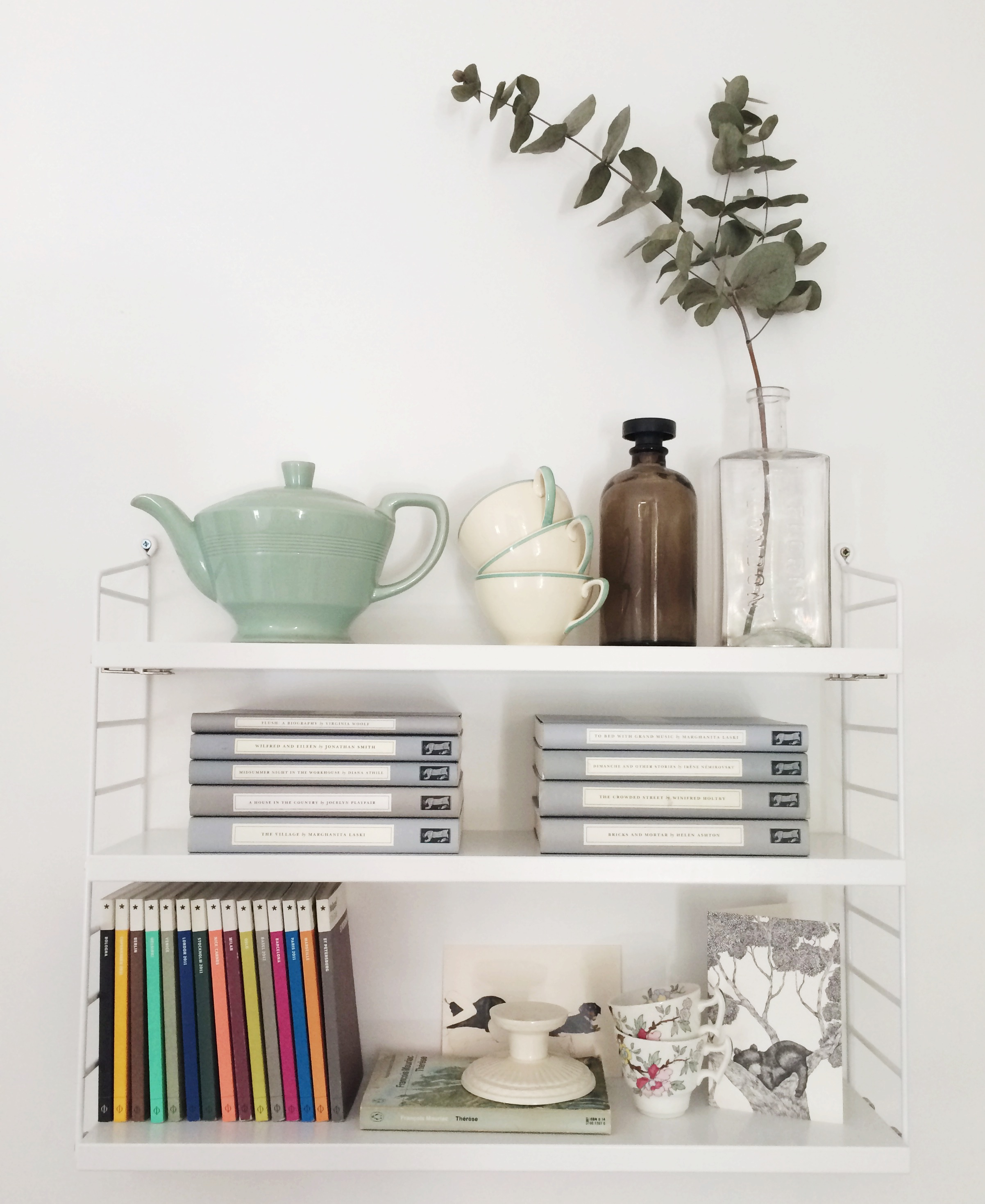 Inspiration Nils Strinnings String Shelving Cate St Hill
