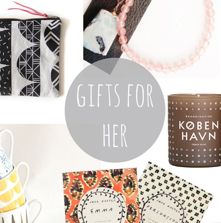 gift guide for her main
