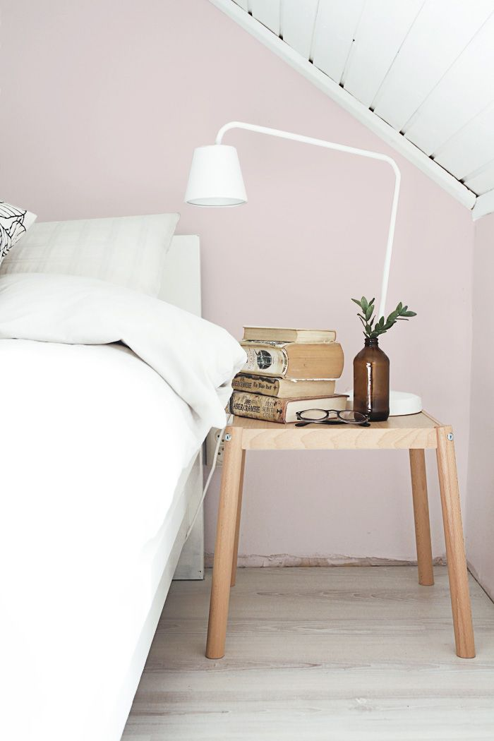 Red Colour Wall: Interior Trend: Soft Pink Walls