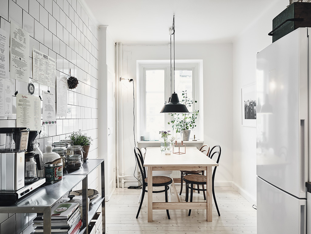 I wish i lived here 3 scandi kitchens for Comedor estilo nordico