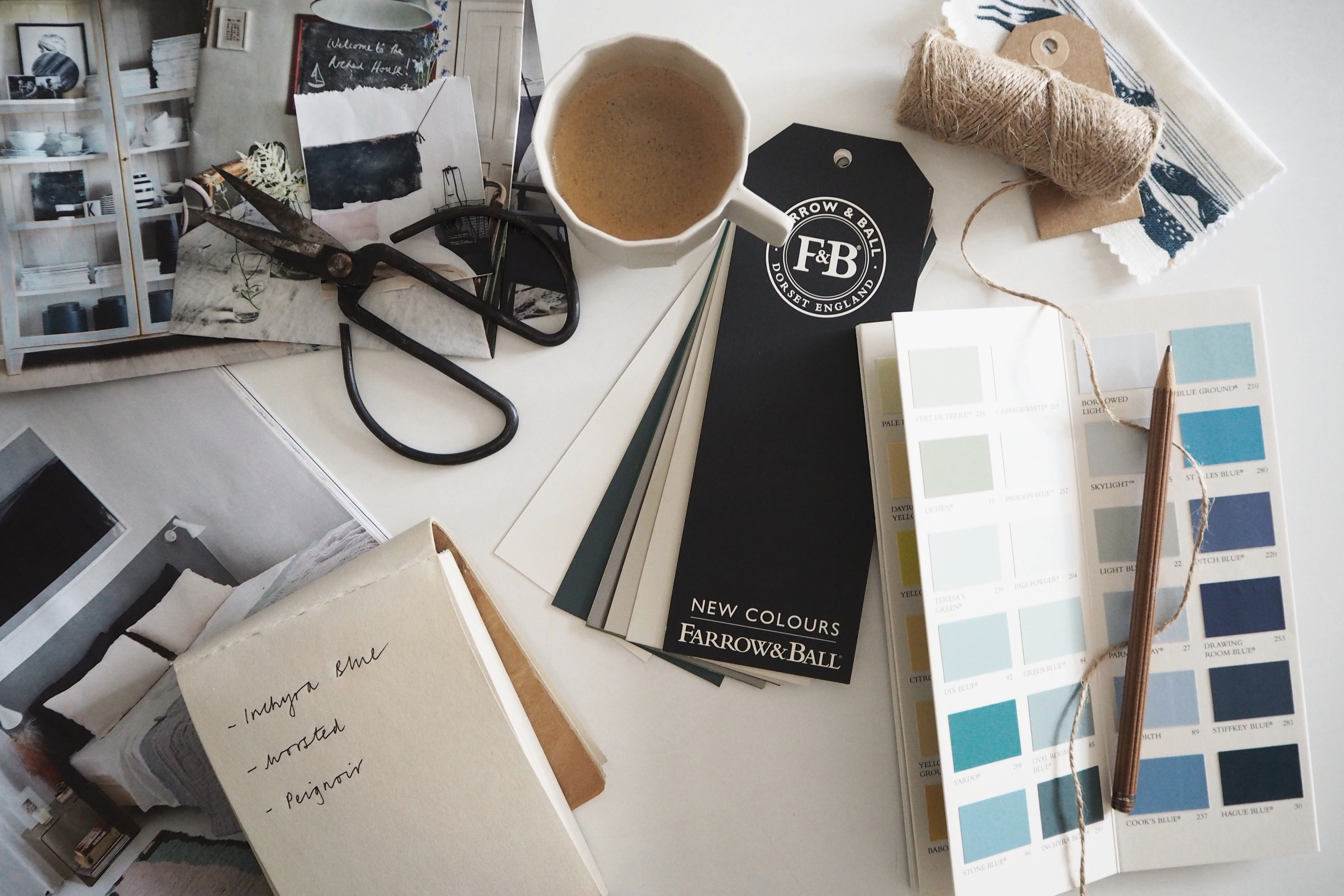 Farrow & Ball new colours 2016