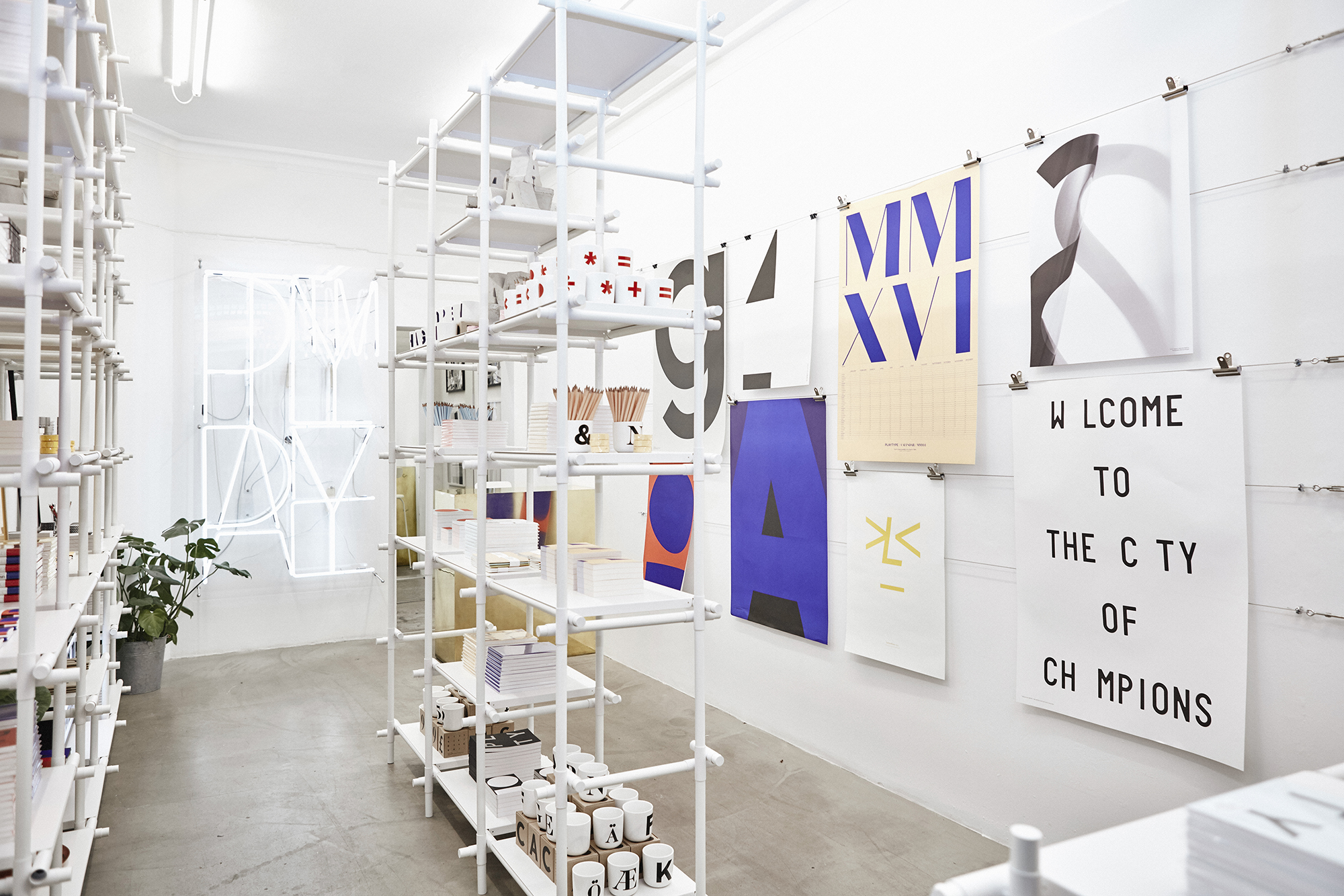 Playtype pop-up at ARAM London