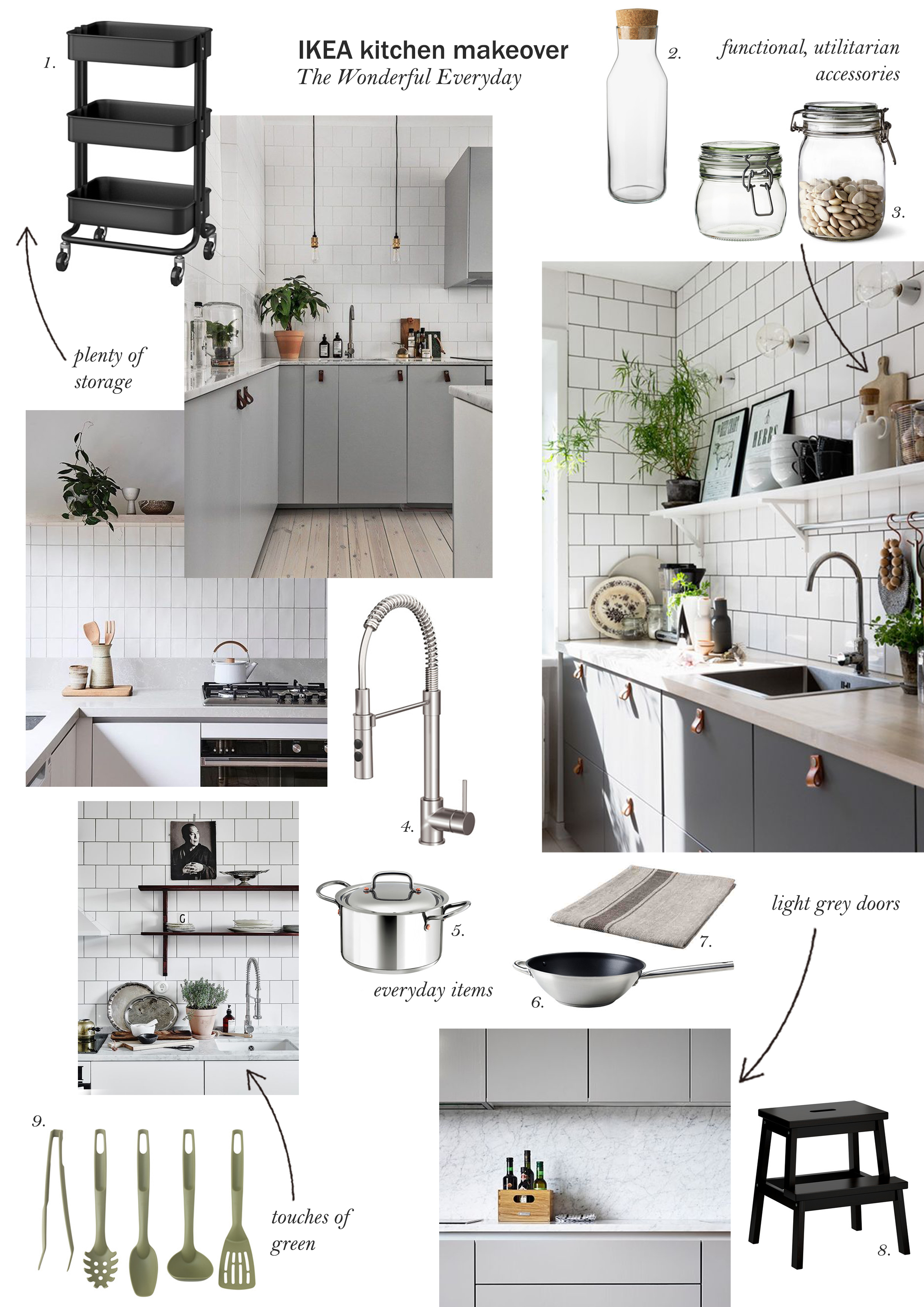 IKEA kitchen makeover - cate st hill