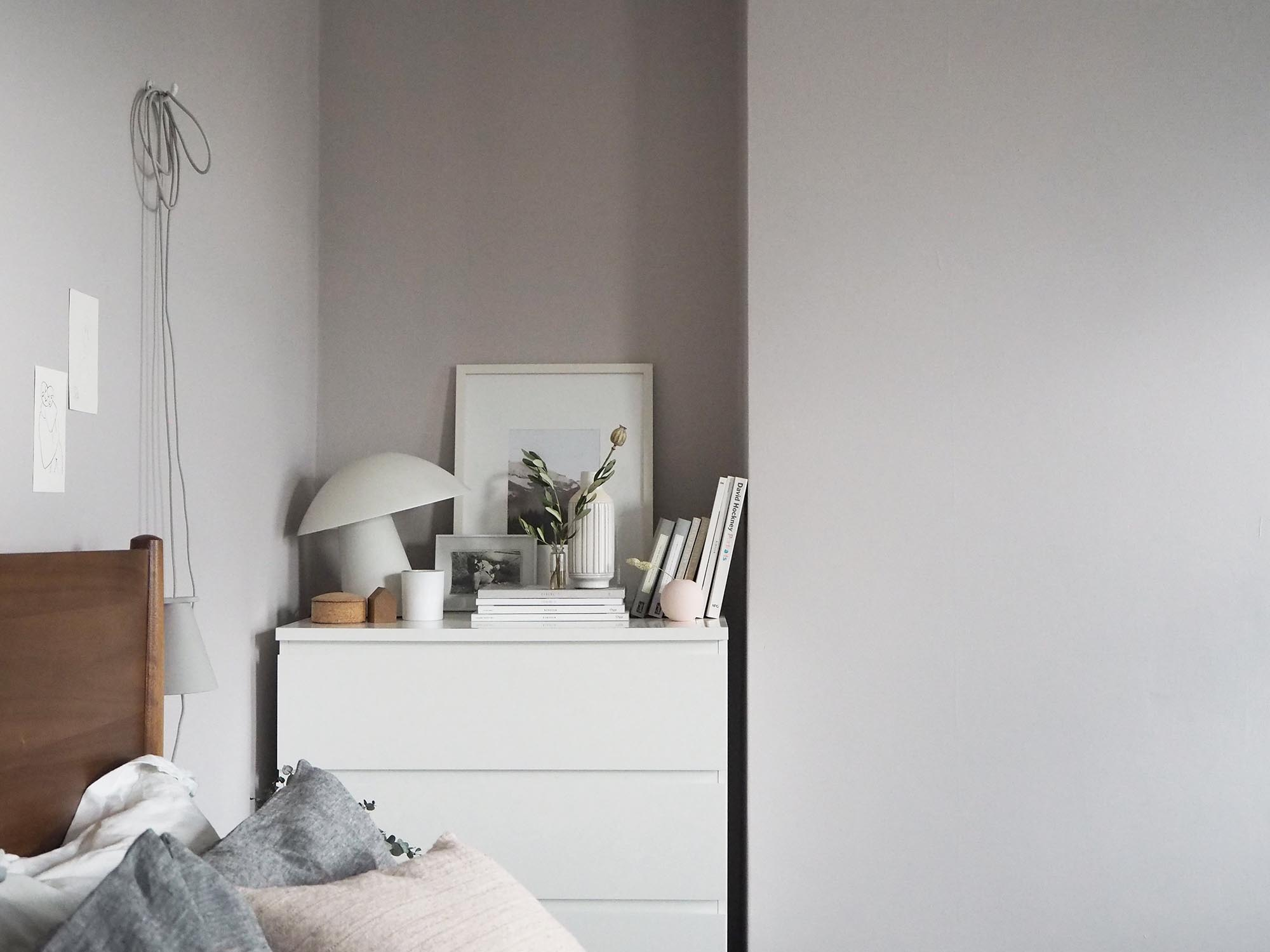 soft blush pink bedroom reveal before after cate st hill. Black Bedroom Furniture Sets. Home Design Ideas