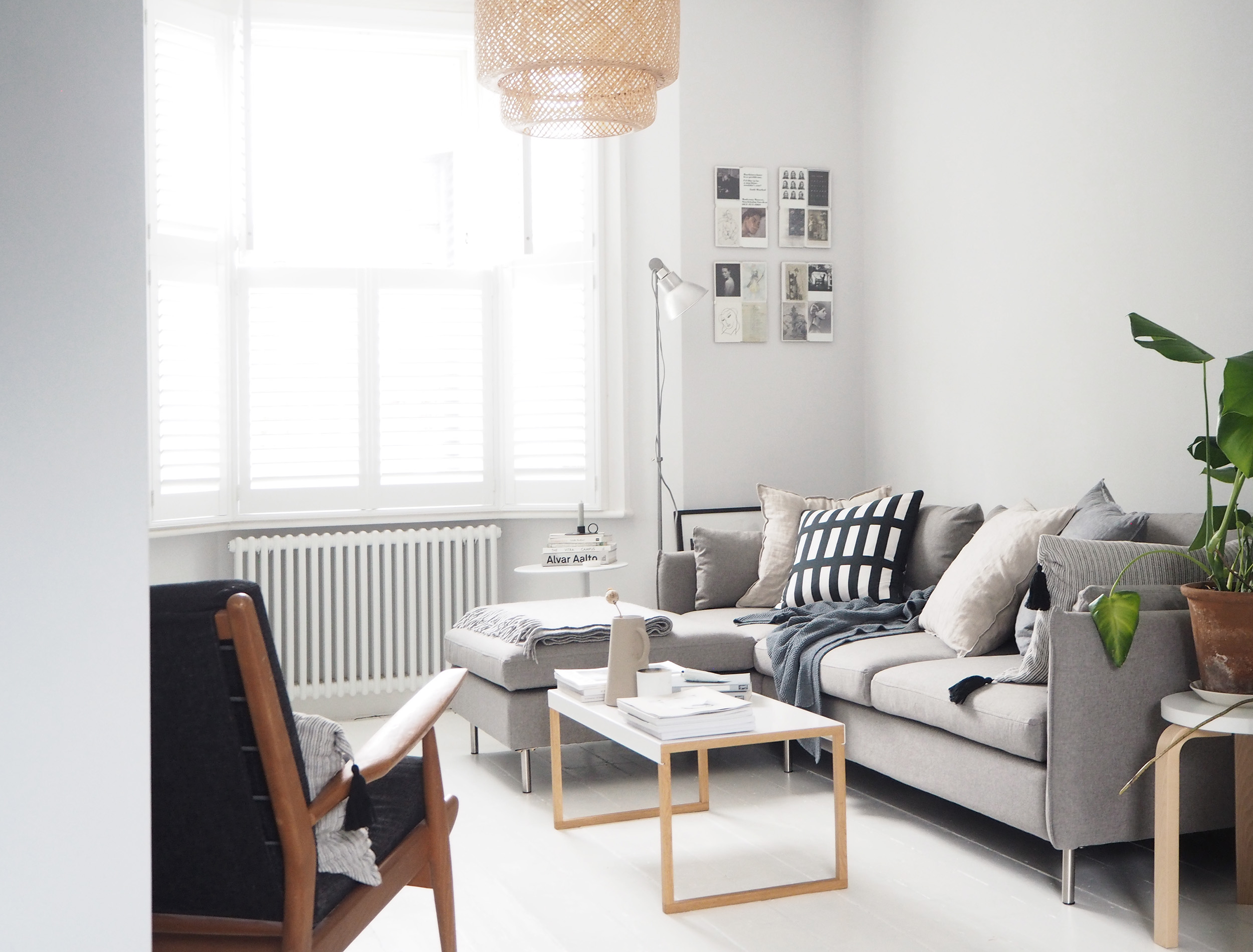 our new vento grey corner sofa from cate st hill. Black Bedroom Furniture Sets. Home Design Ideas