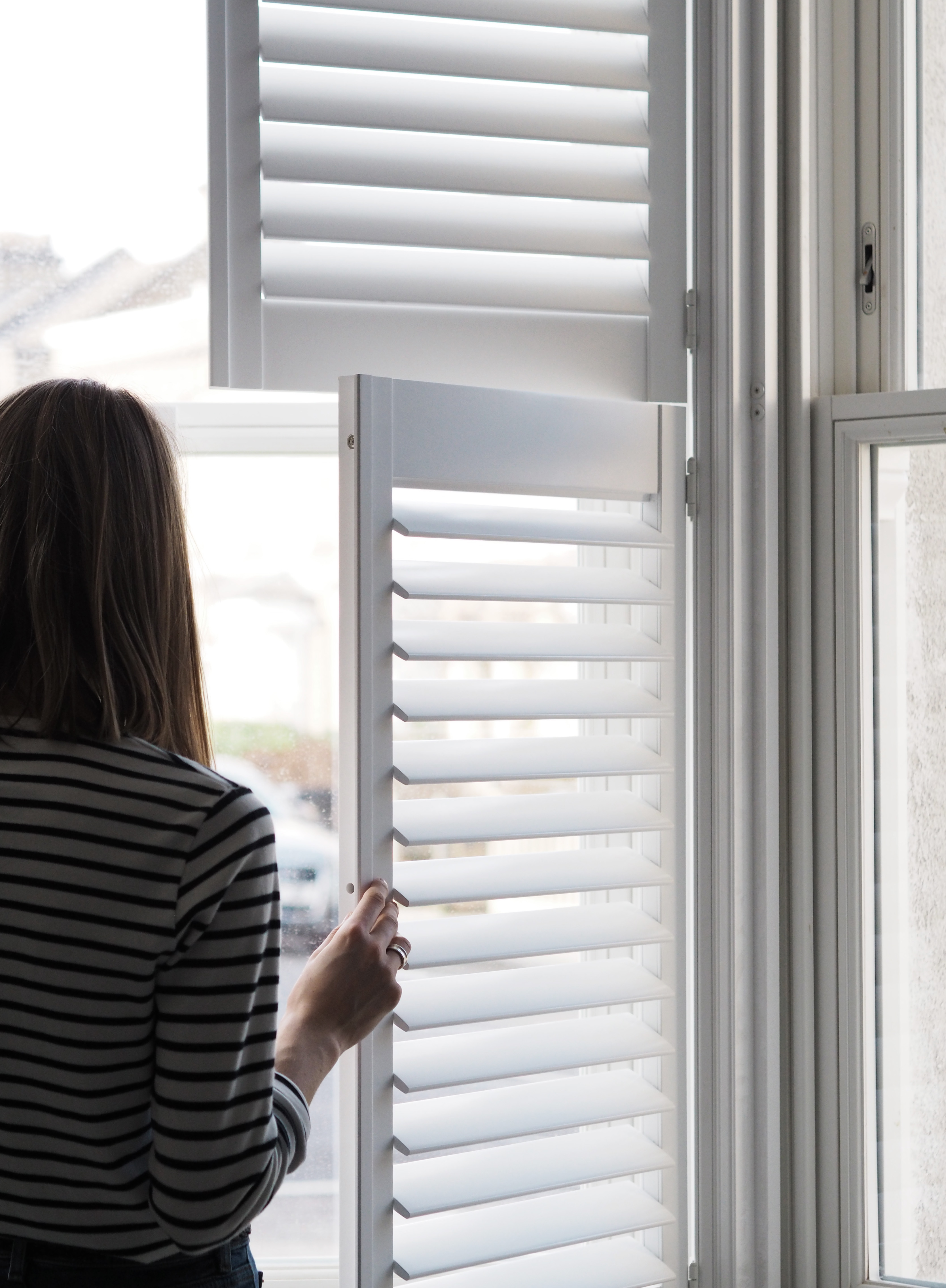 Wooden Window Shutters From Hillarys Light Living Room