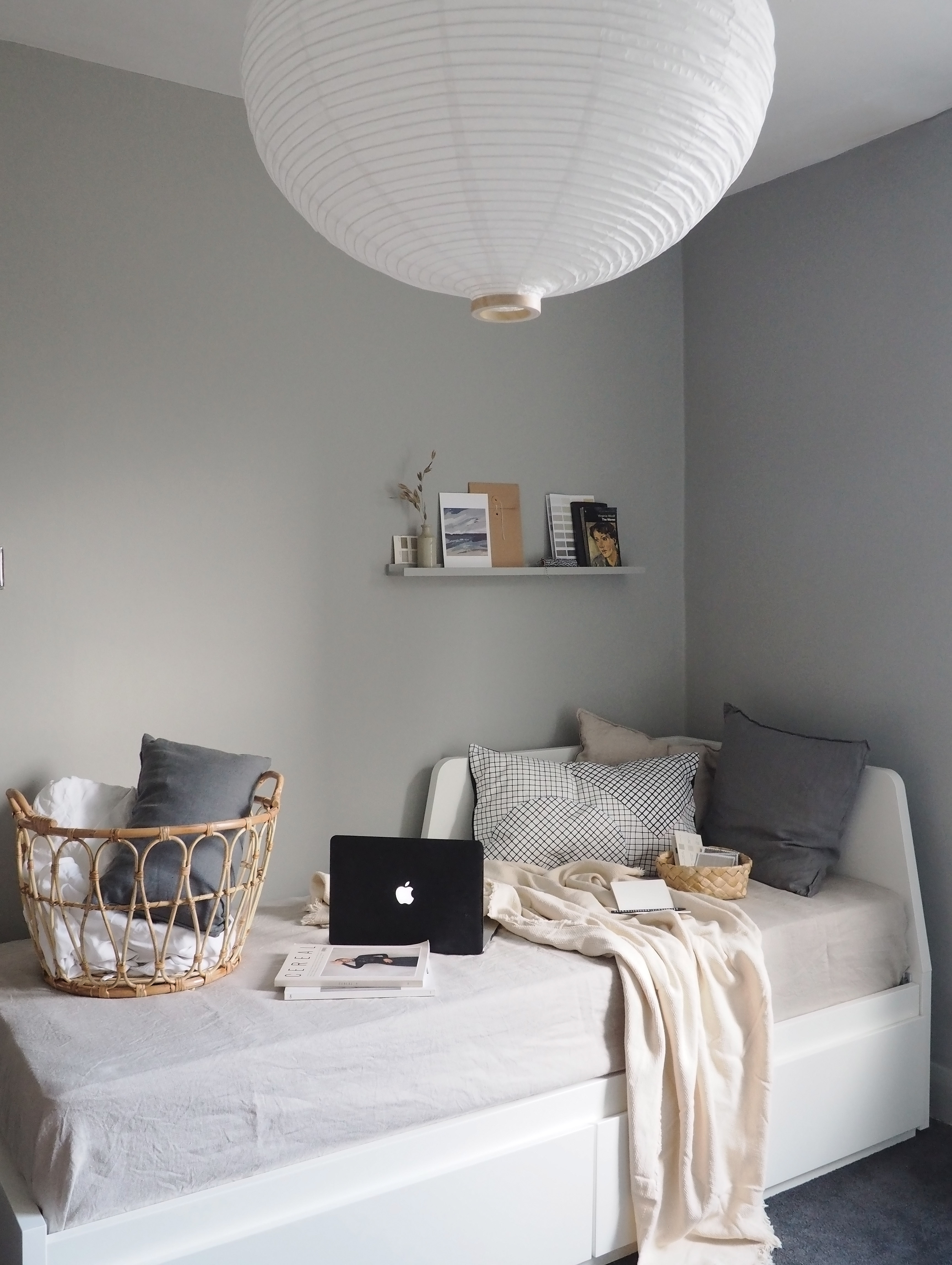Small Space Living Ideas A Simple Home Office Refresh Ad Gifted