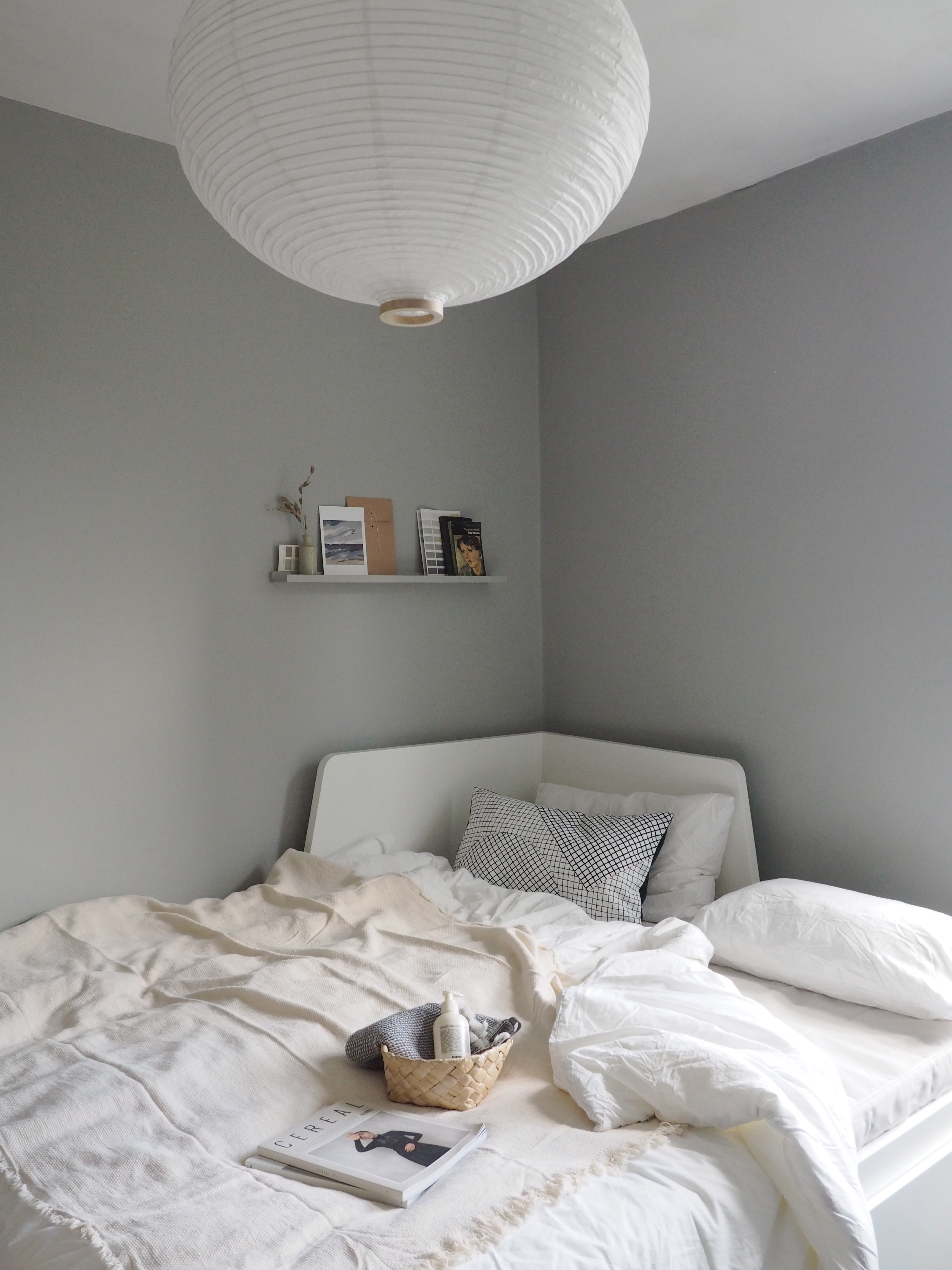 Image of: Guest Room Ideas Day Bed Pull Out Bed Japanese Paper Lantern Light Cate St Hill